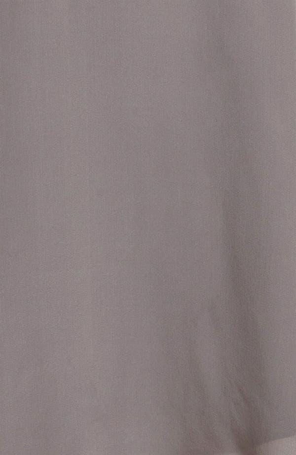 Alternate Image 3  - Eliza J Blouson Sleeve Silk Day Dress