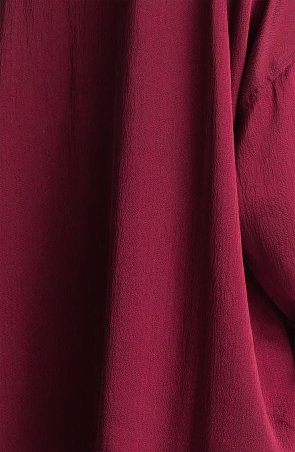 Alternate Image 3  - Eileen Fisher Hammered Silk Shirt