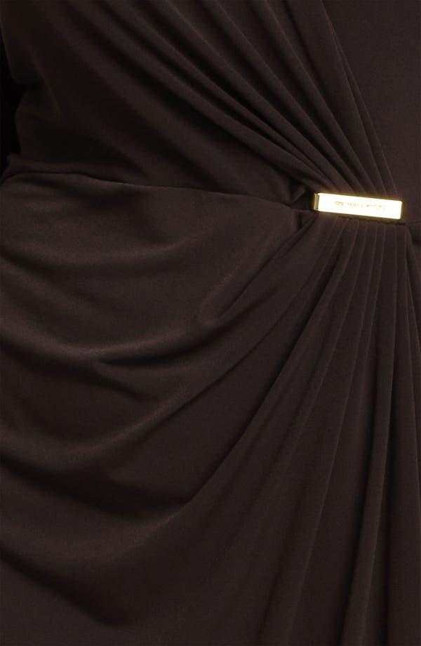 Alternate Image 3  - MICHAEL Michael Kors Long Sleeve Wrap Dress (Plus)