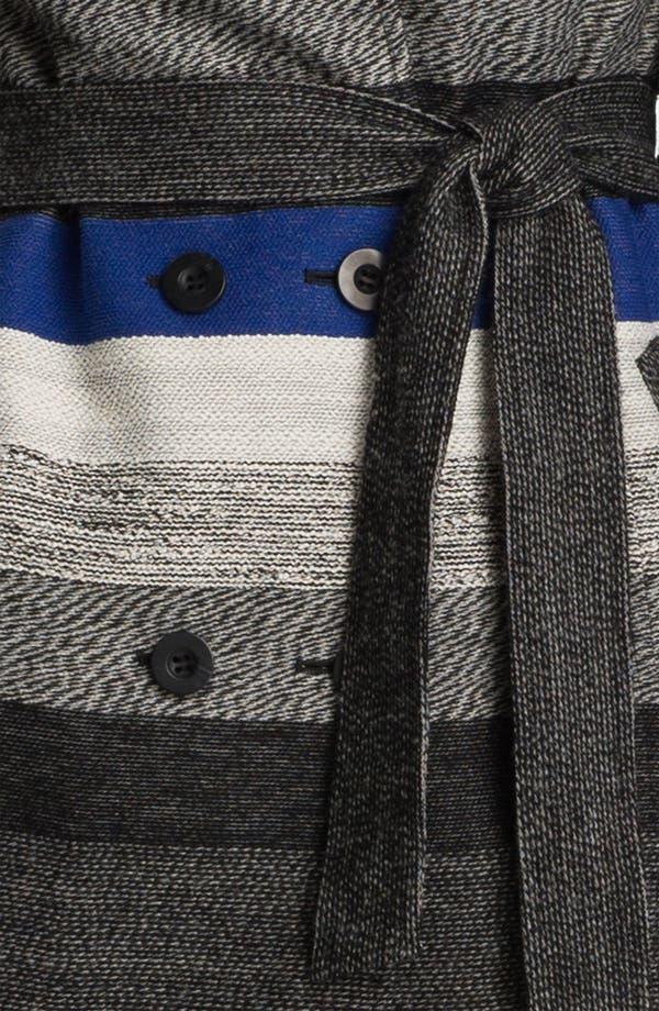 Alternate Image 3  - Classiques Entier® 'Art Stripe' Trench Coat