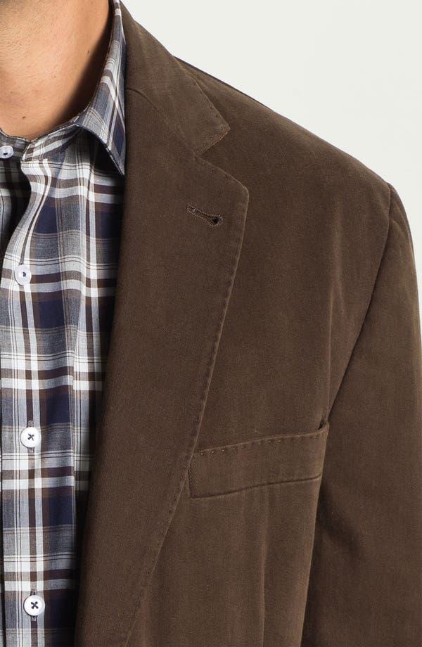 Alternate Image 3  - Kroon Brushed Cotton Sportcoat
