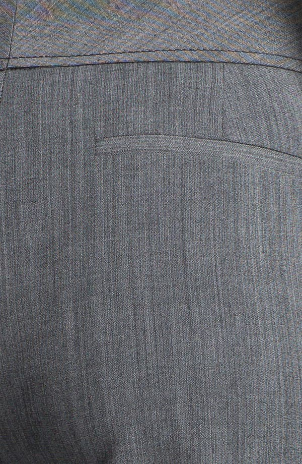 Alternate Image 3  - Halogen® 'Taylor' Cross Dye Curvy Fit Pants