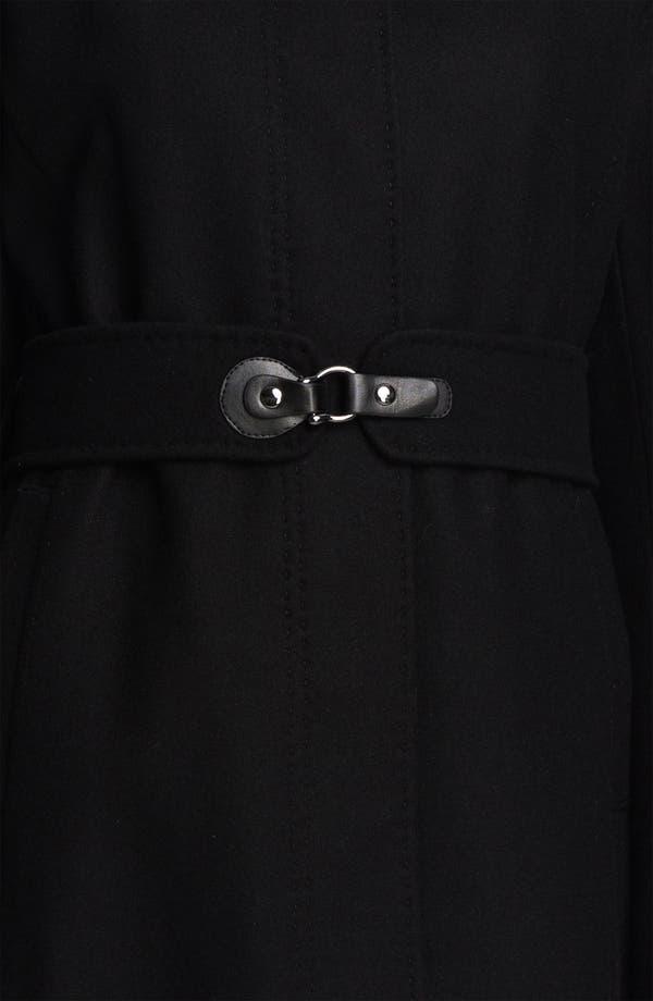 Alternate Image 3  - Via Spiga 'Maria' Tab Trim Coat (Nordstrom Exclusive)