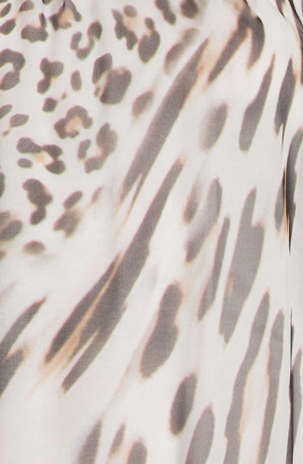 Alternate Image 3  - Young, Fabulous & Broke 'Gila' Leopard Chiffon Maxi Dress