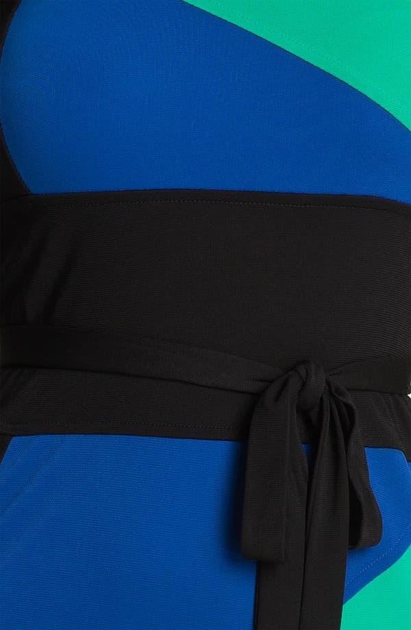 Alternate Image 3  - BCBGMAXAZRIA 'Leticia' Colorblock Jersey Dress