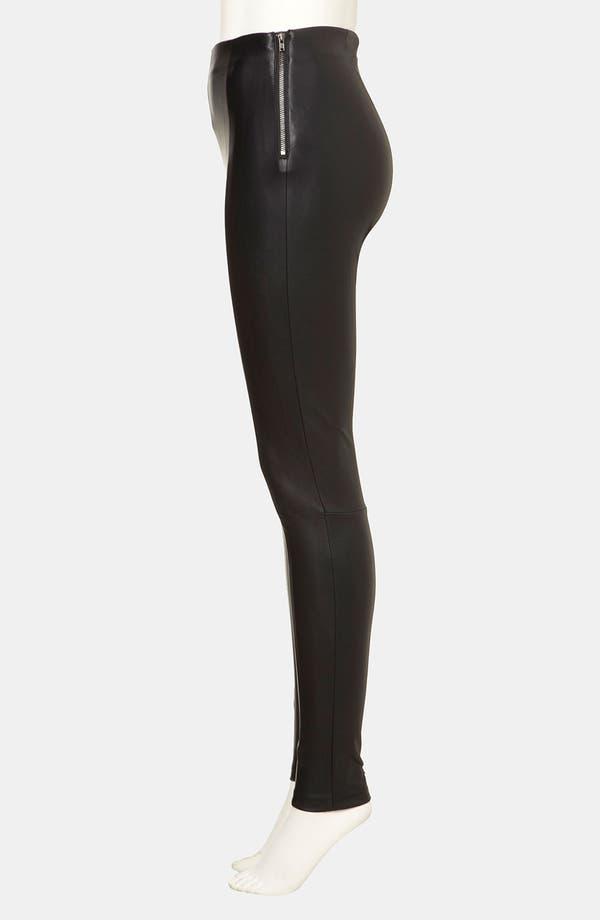 Alternate Image 3  - Topshop 'Gabriella' Stretch Faux Leather Pants