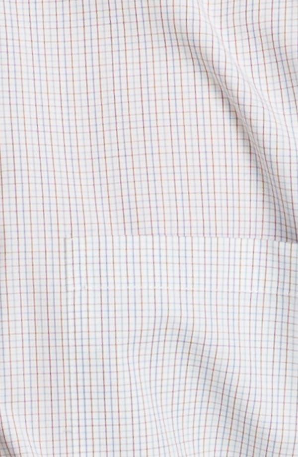 Alternate Image 3  - Topman 'Georgio' Grid Check Woven Shirt