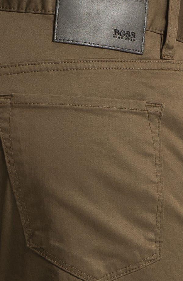 Alternate Image 3  - BOSS Black 'Maine' Straight Leg Pants (British Tan)