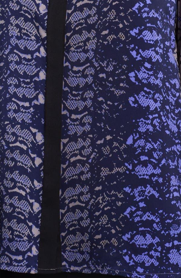 Alternate Image 3  - DKNYC Long Sleeve Print Blouse