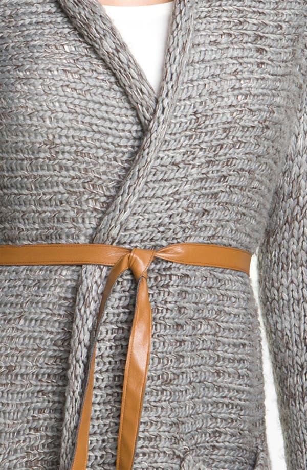 Alternate Image 3  - Payton Belted Long Cardigan (Petite)