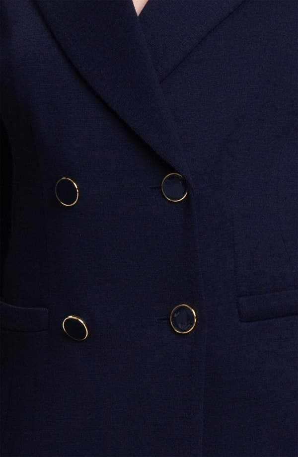 Alternate Image 4  - St. John Collection Double Breasted Milano Knit Jacket