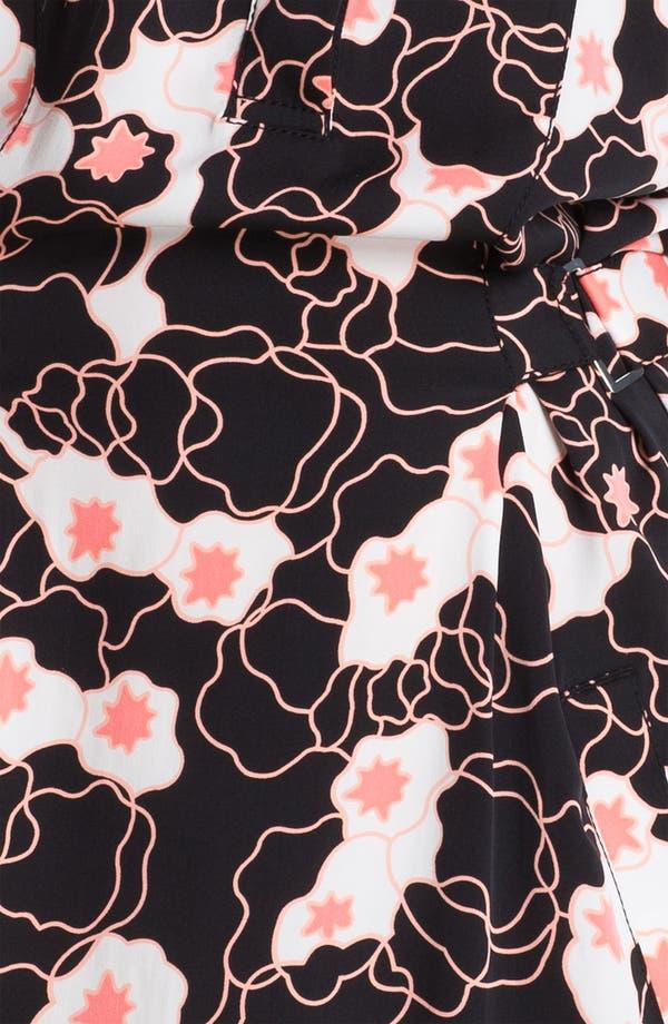 Alternate Image 3  - Diane von Furstenberg 'Pharo' Stretch Silk Shirtdress