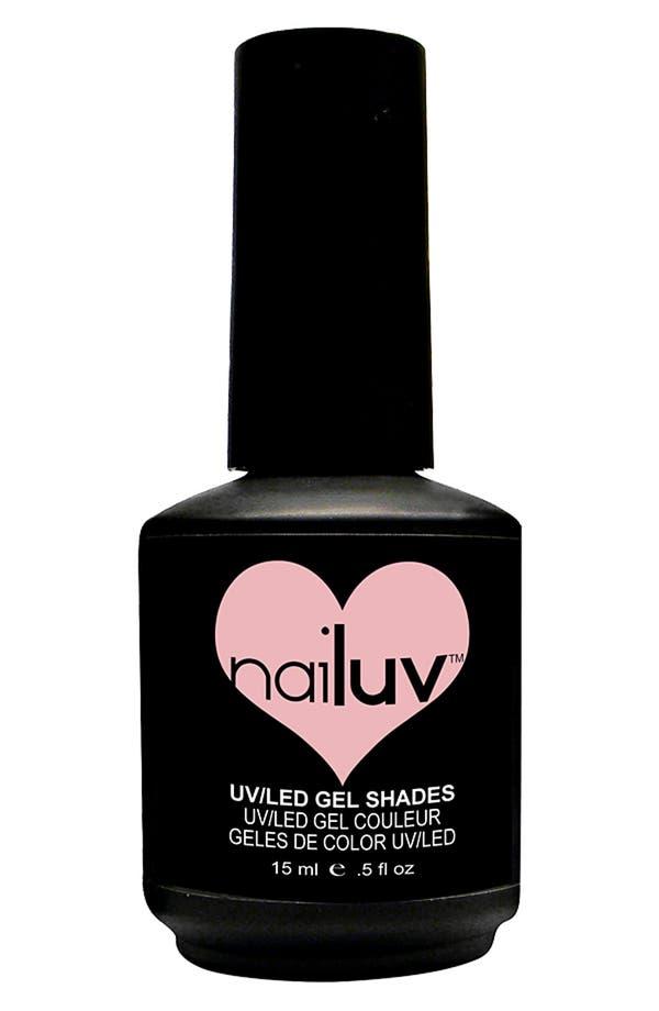 Alternate Image 1 Selected - NaiLuv™ 'Pucker Up' Gel Nail Polish