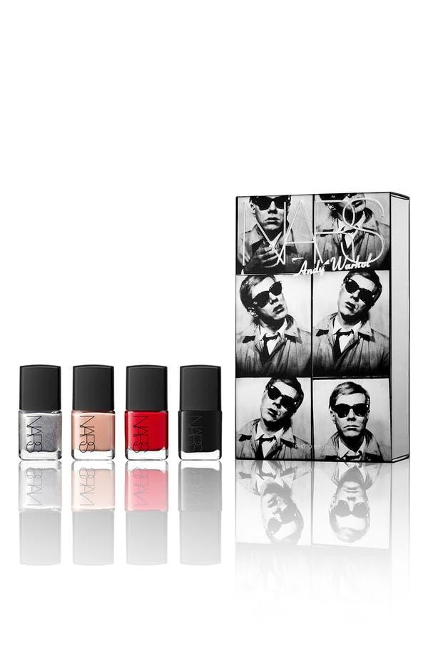 Alternate Image 1 Selected - NARS 'Andy Warhol' Photo Booth Nail Polish Gift Set