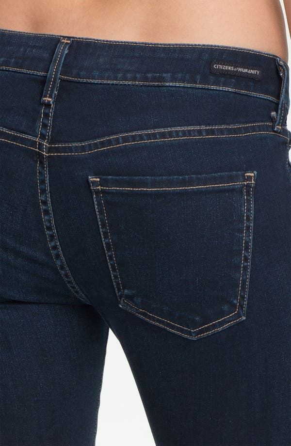 Alternate Image 3  - Citizens of Humanity 'Racer' Crop Skinny Jeans (Starry)