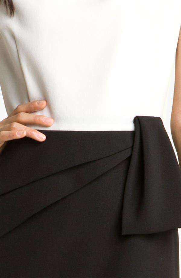 Alternate Image 3  - Adrianna Papell Asymmetrical Peplum Dress (Petite)