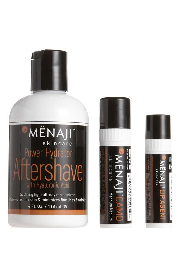Alternate Image 1 Selected - Mënaji Skincare for Men 'Medium' After Shave Kit ($67.50 Value)