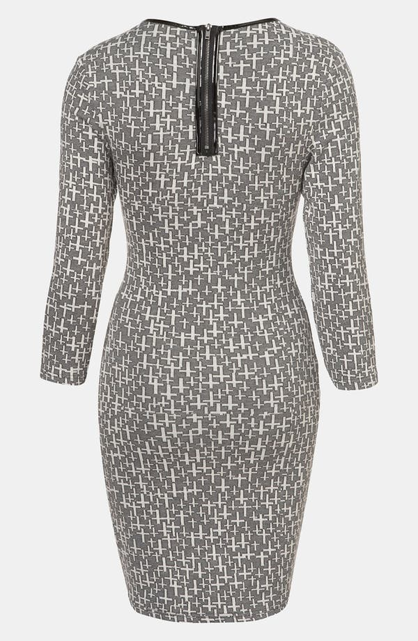 Alternate Image 2  - Topshop 'Cross' Knit Dress
