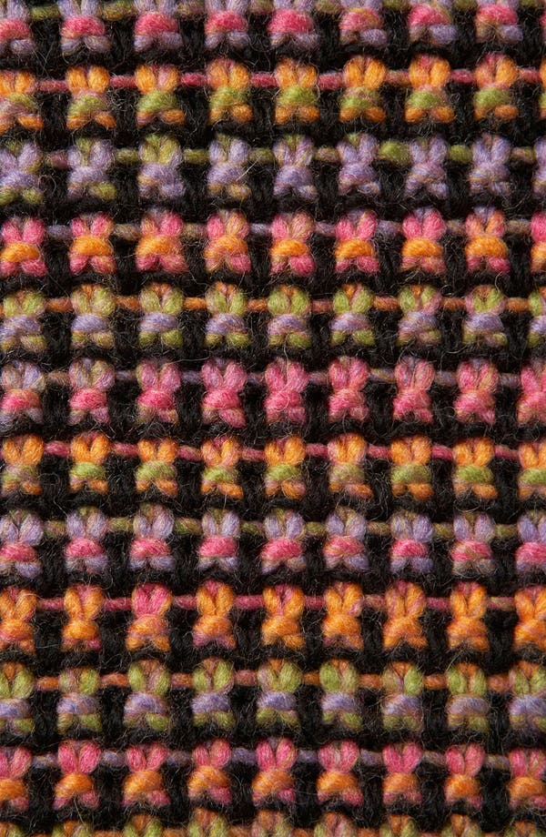 Alternate Image 3  - Topshop Rainbow Texture Tunic Sweater