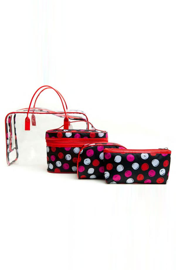 Alternate Image 1 Selected - Tricoastal Design 'Dot' Cosmetics Bag Set