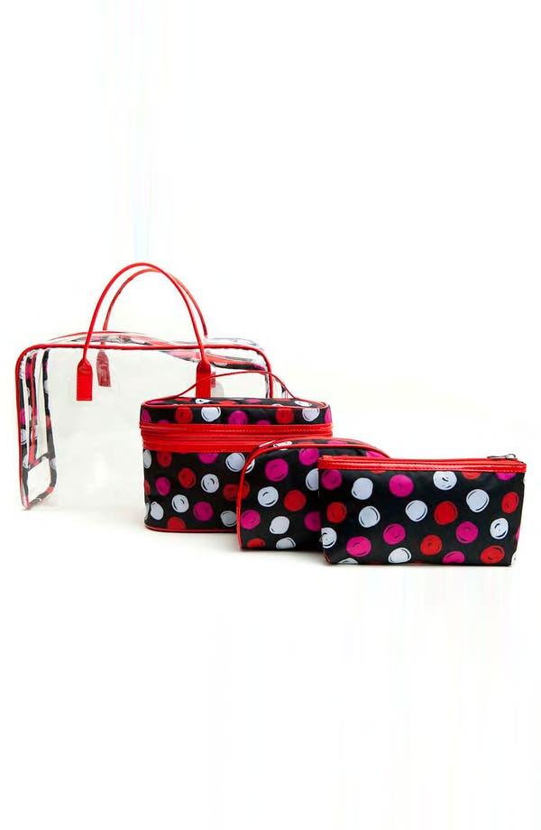 Main Image - Tricoastal Design 'Dot' Cosmetics Bag Set