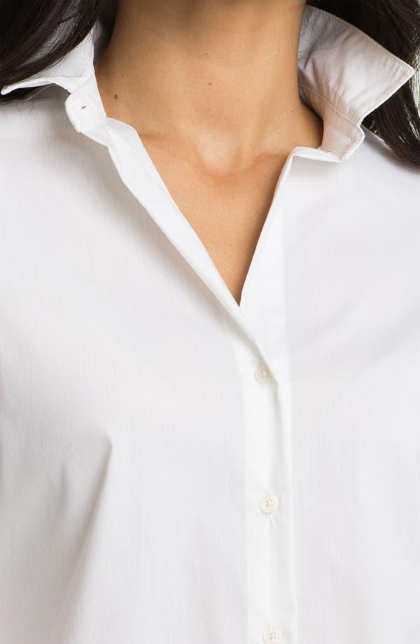 Alternate Image 3  - Anne Klein Poplin Shirt