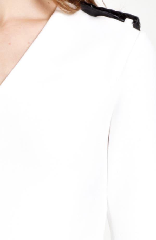 Alternate Image 3  - Burberry London Epaulet Dress