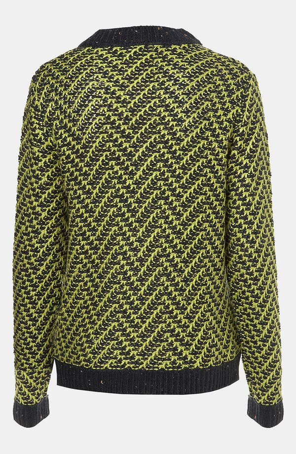 Alternate Image 2  - Topshop Chevron Knit Sweater