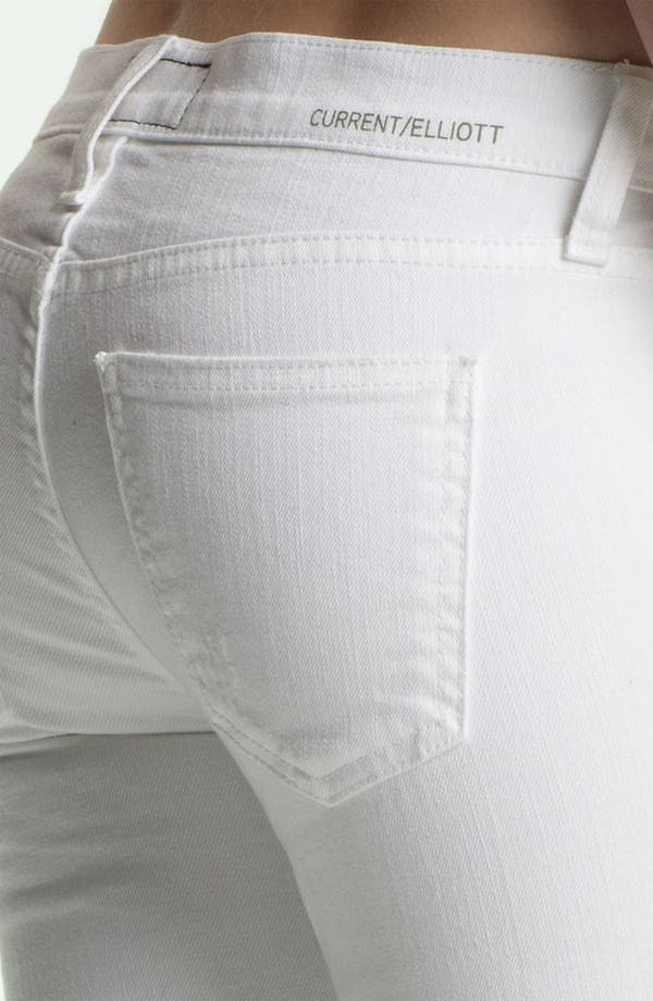 Alternate Image 3  - Current/Elliott 'The Straight Leg' Destroyed Stretch Jeans (Sugar Destroy)