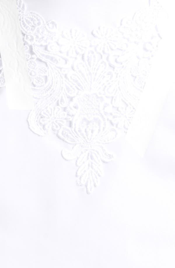 Alternate Image 3  - Christopher Kane Bow Detail Sheer Organza Blouse