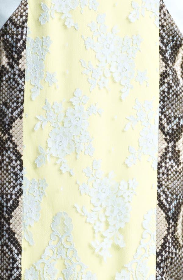 Alternate Image 3  - Erdem 'Brynn' Panelled Dress