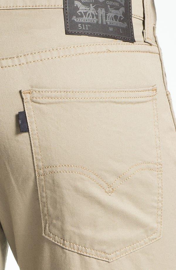 Alternate Image 3  - Levi's® '511™' Skinny Leg Jeans (Ryan)