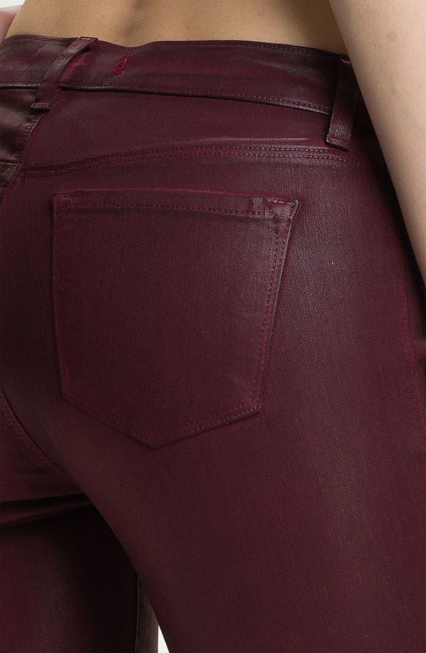 Alternate Image 3  - J Brand Coated Stretch Skinny Jeans