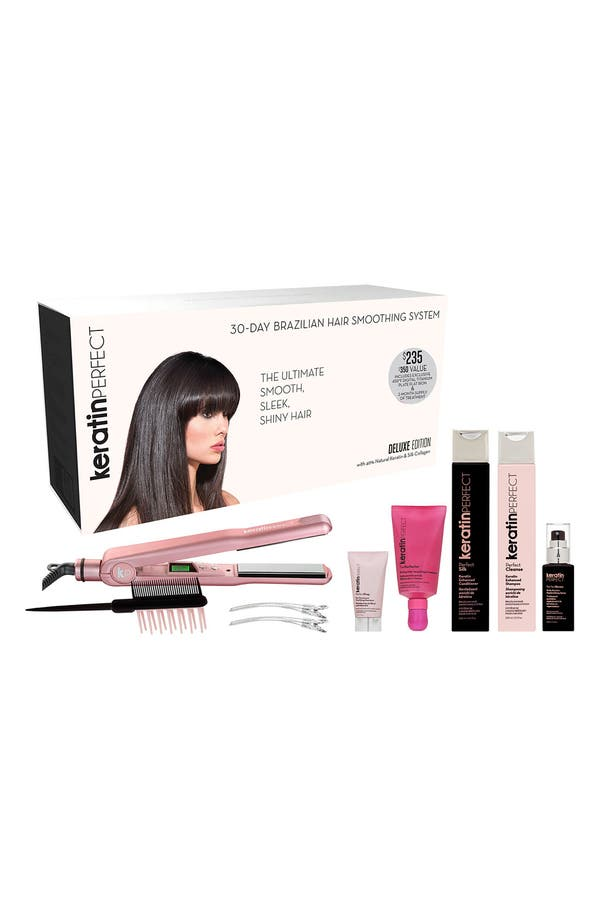 Alternate Image 2  - KeratinPerfect 30-Day Brazilian Hair Smoothing System (Deluxe Edition)