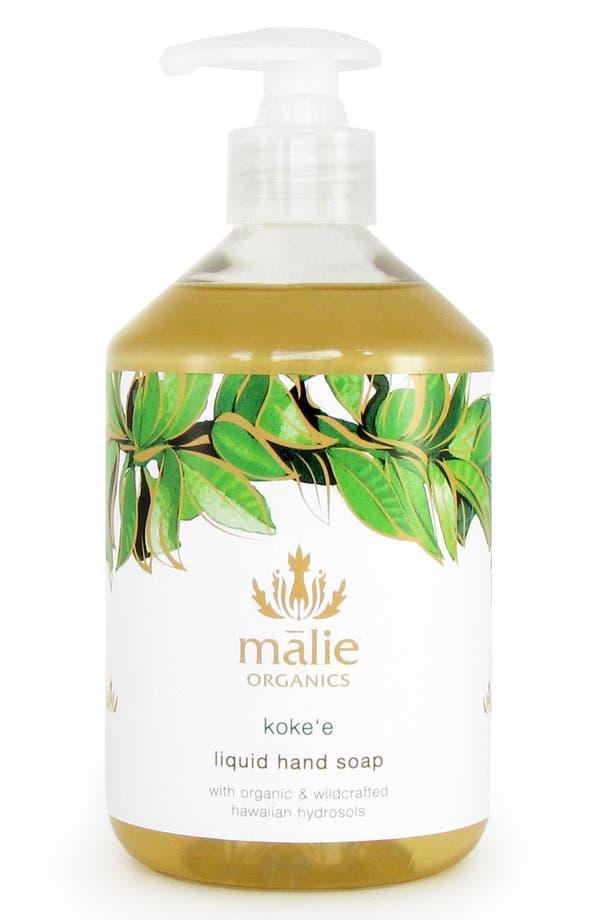 Alternate Image 1 Selected - Malie Organics Koke'e Organic Hand Soap