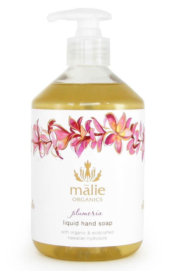 Alternate Image 1 Selected - Malie Organics 'Plumeria' Organic Hand Soap