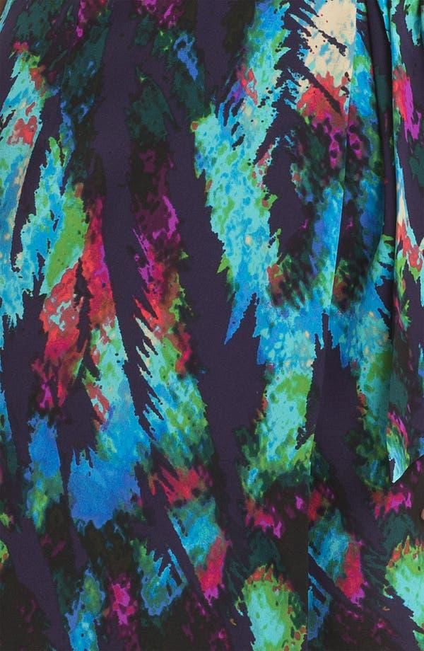 Alternate Image 3  - Presley Skye 'Hannah' Print Faux Wrap Silk Dress