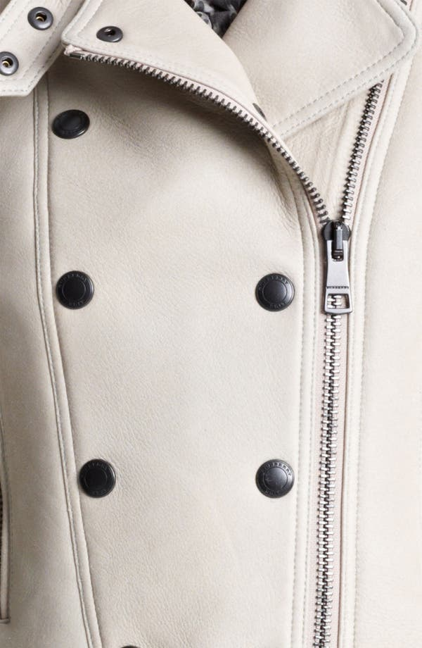 Alternate Image 3  - Burberry Brit 'Alderley' Lambskin Shearling Jacket