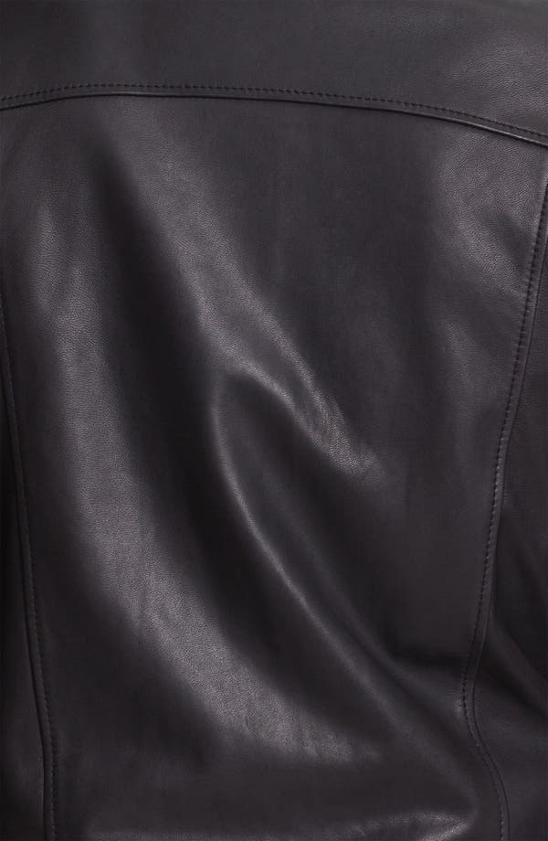 Alternate Image 3  - adidas SLVR Leather Jacket
