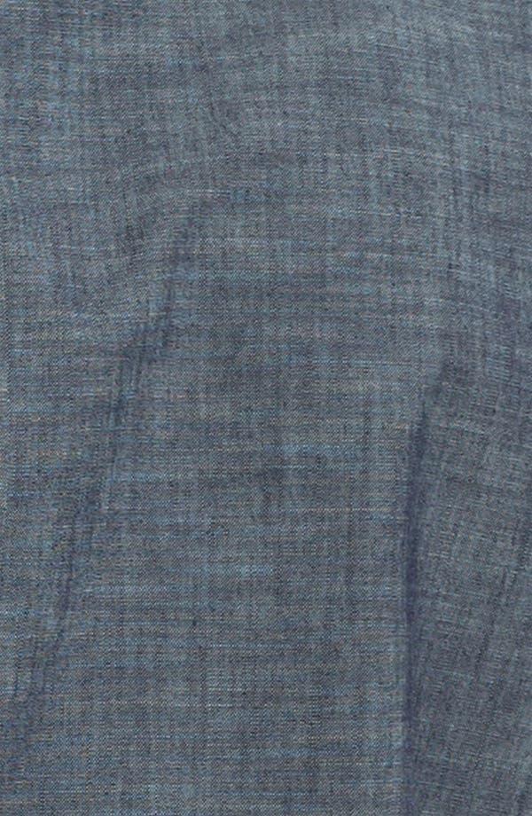 Alternate Image 3  - Ben Sherman Short Sleeve Chambray Shirt