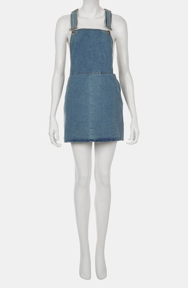 Alternate Image 2  - Topshop Denim Jumper