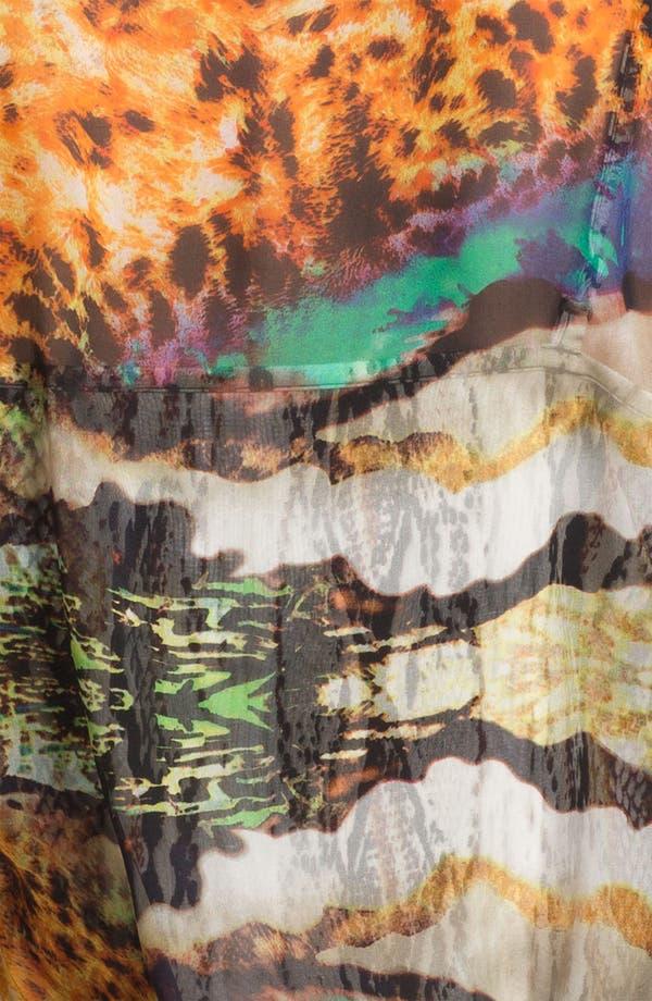 Alternate Image 3  - Alberto Makali 'Ocean' Print Silk Blouse & Camisole