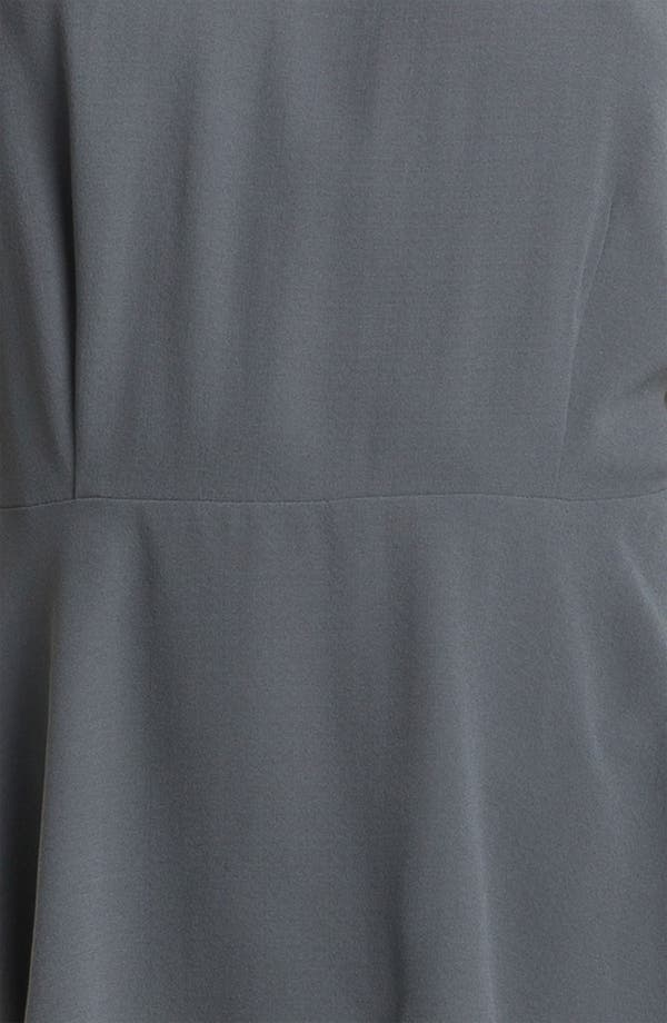Alternate Image 3  - Eileen Fisher Silk Georgette Peplum Blouse (Online Only)