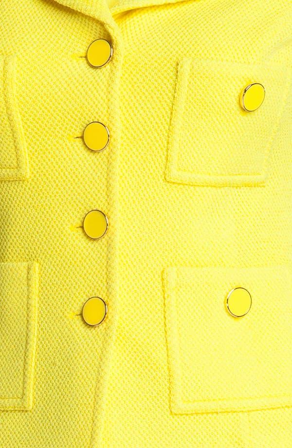 Alternate Image 5  - St. John Collection Patch Pocket Mod Piqué Jacket