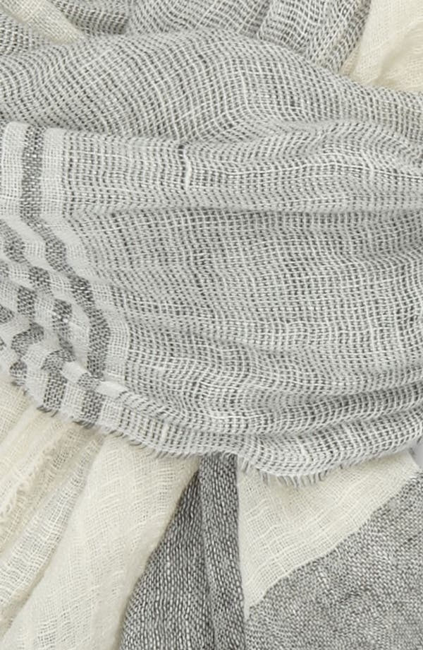 Alternate Image 2  - rag & bone Linen Blend Scarf