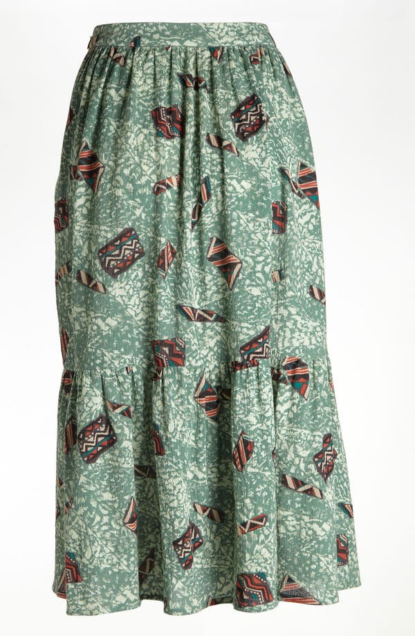 Alternate Image 2  - Viva Vena! 'Mind Reader' Tiered Midi Skirt