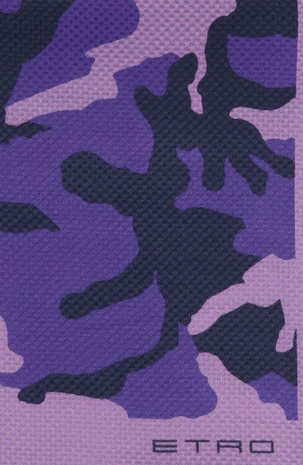 Alternate Image 4  - Etro Camo Silk & Cotton Pocket Square