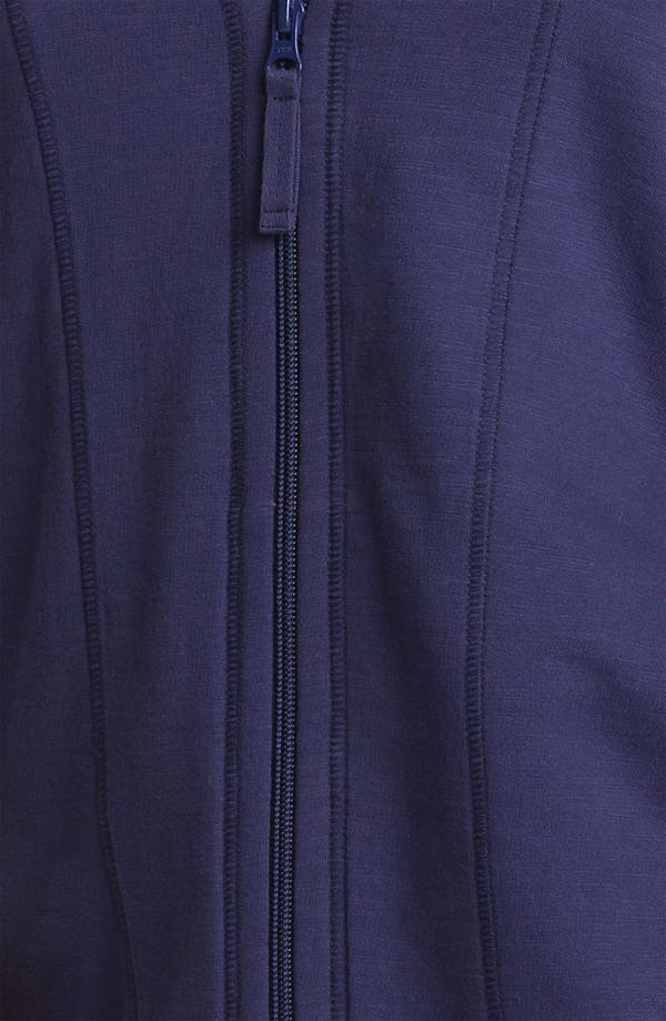 Alternate Image 3  - Sejour Zip Front Terry Hoodie (Plus Size)