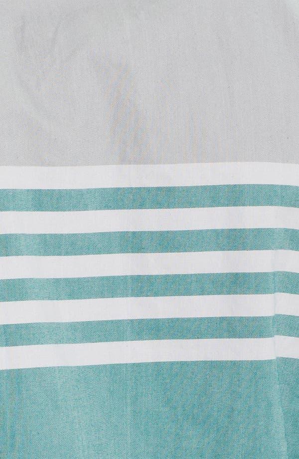 Alternate Image 3  - Edun Colorblock Stripe Woven Shirt
