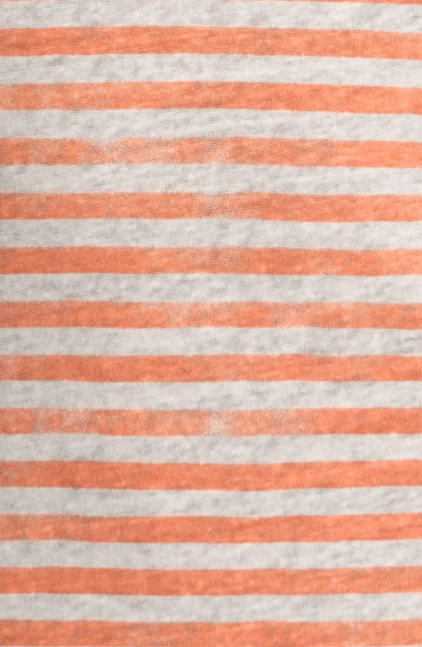 Alternate Image 3  - Majestic Stripe Linen Tank